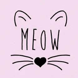 Cat Print cat on a pink background cat print cat graphic cat
