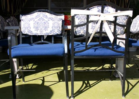 Sew Patio Chair Cushion Covers Hgtv Sewing Cushions For Outdoor Furniture