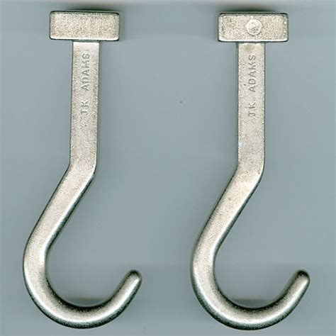 Hooks For Pot Racks j k pot rack hooks set of 2 in hanging pot racks