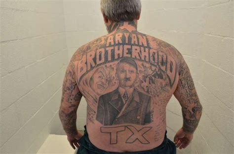 aryan brotherhood prison offenders texas among worst for racist prison gangs anti defamation
