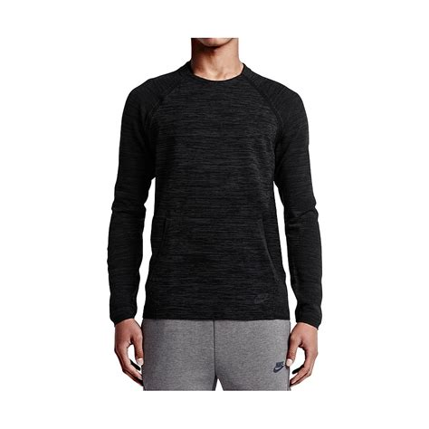 knit tech nike tech knit crew black highlights