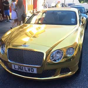Gold Plated Bentley The World S Catalog Of Ideas