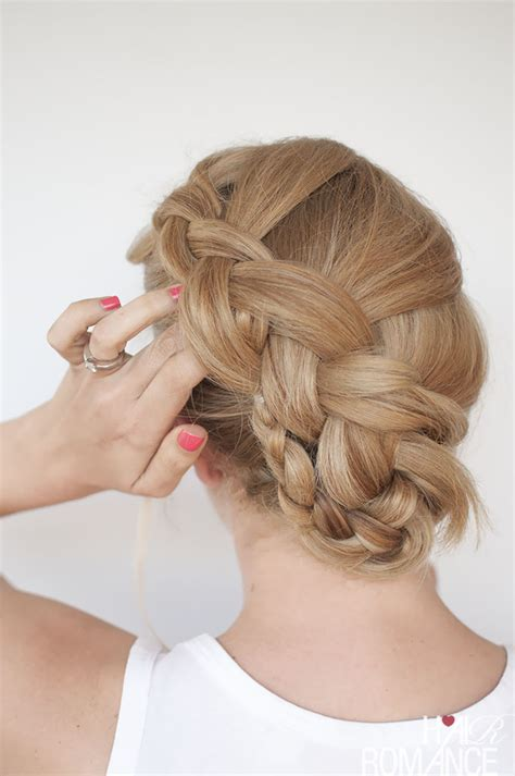 i want to see hair galarry on braids new braid hairstyle tutorial the twist braid updo hair