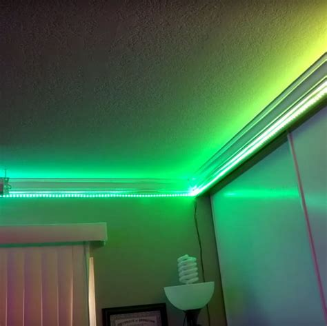 led lights for room a thousand led lights for your room hackaday