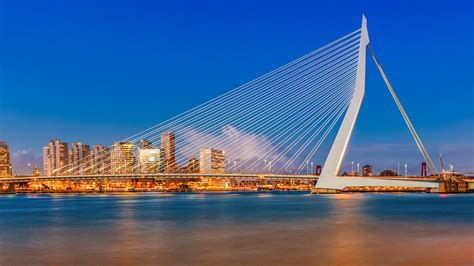 Home Landscapes erasmusbrug rotterdam jurjen veerman photography