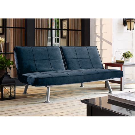 navy blue futon navy blue futon