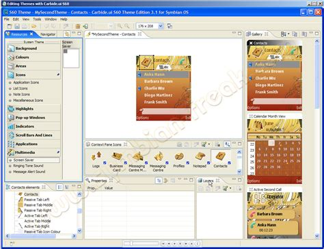 themes creator software nokia series 40 theme creator software