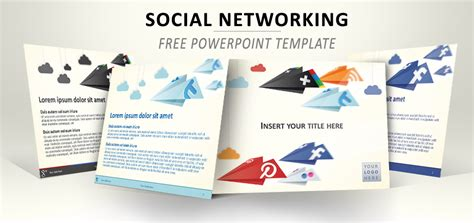 social networking free templates social networking powerpoint template