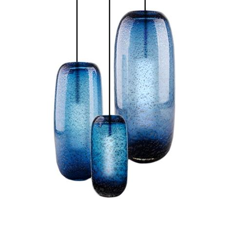 pendant ls without wiring turquoise blue glass pendant lights 100 images