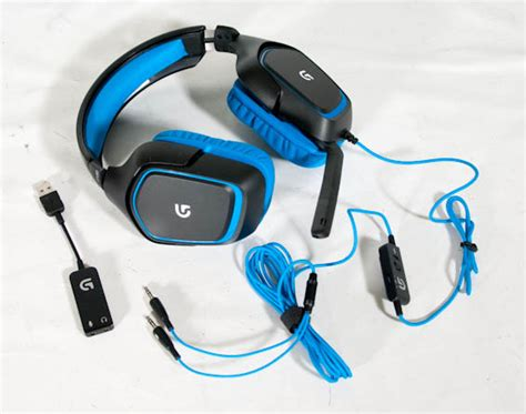 Headphone Headset Logitech G430 Digital Gaming Headset capsule gaming headset roundup entries from logitech steelseries and razer