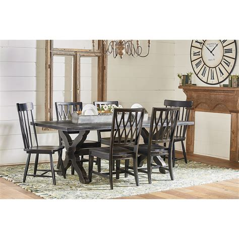 Joanna Gaines Dining Room Furniture Magnolia Home By Joanna Gaines Primitive Sawbuck Dining