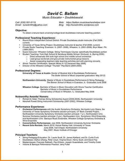Resume For Teaching by 5 Resume Self Introduction Introduction Letter
