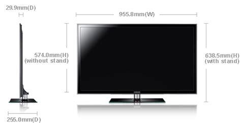 Tv Samsung Berbagai Ukuran samsung 40 led tv model ua40d5000 clickbd