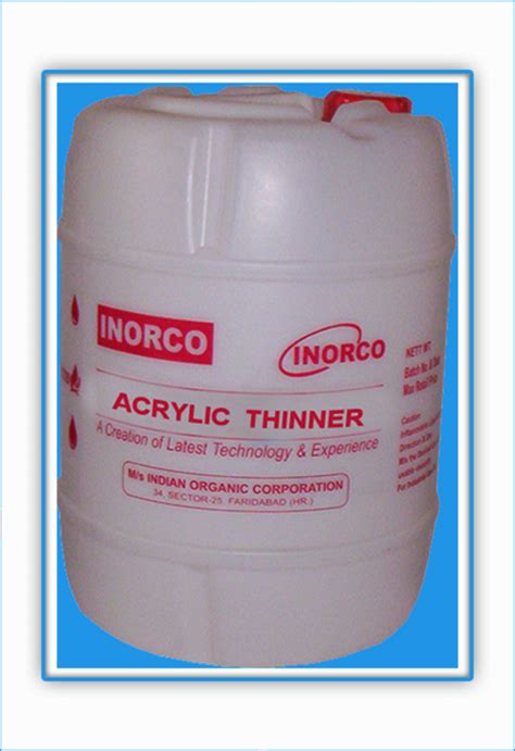 Thinner Acrylic industrial paints paint thinner chemical solvent