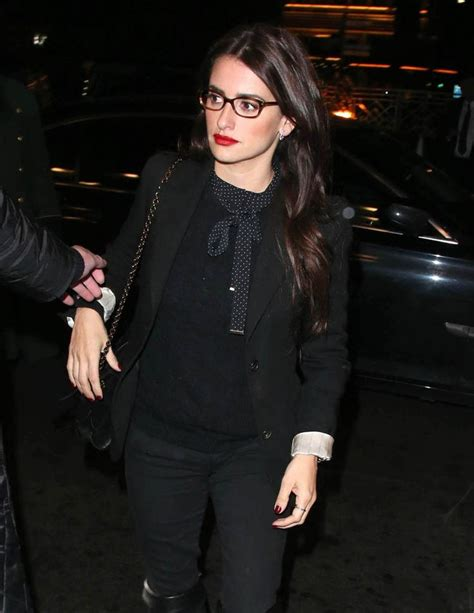Penelopes Inspired Look by Tom Cruise Penelope And Salma Hayek Dinner