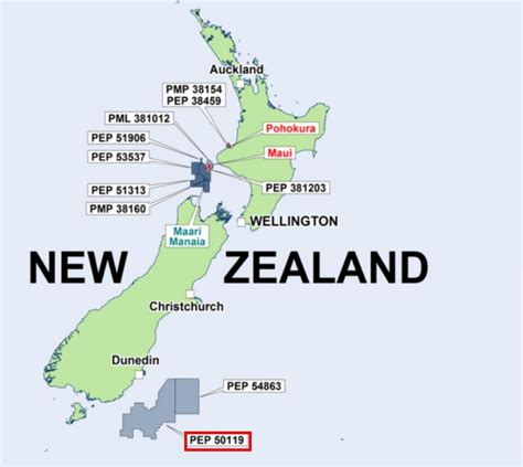 Pdf Where Is New Zealand Located by Pttep Withdraws From Great South Basin Venture Nz