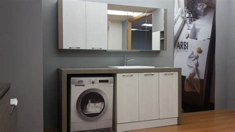mobili bagno arbi prezzi mobile lavanderia arbi bolle laminato arredo bagno a