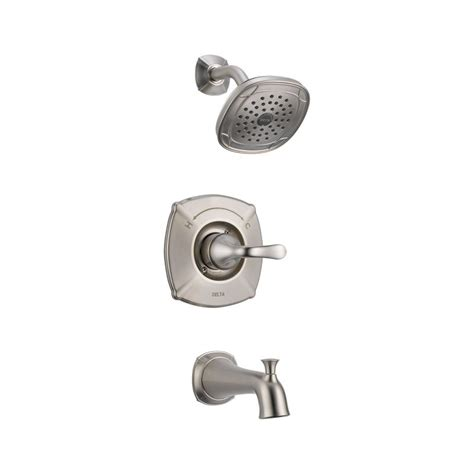 Delta Monitor Shower Faucet Parts by Faucet 144705 Ss In Stainless Steel By Delta