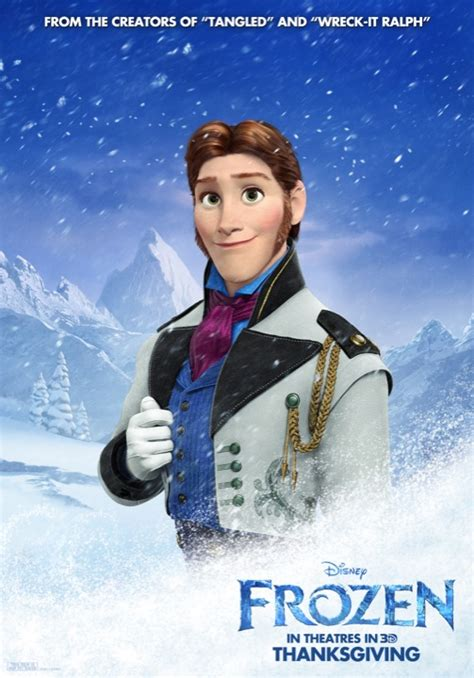 film frozen never new character posters for disney s frozen