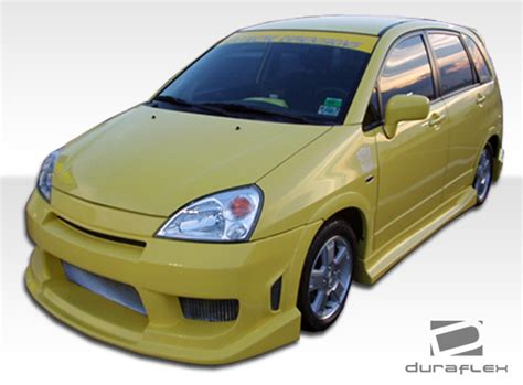 02 Suzuki Aerio 02 07 Suzuki Aerio Drifter Duraflex Front Kit Bumper