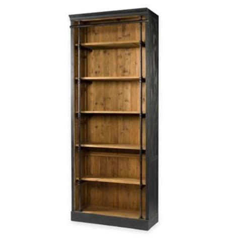 bed bath and beyond bookcase buy wooden folding and stacking bookcase in black from bed
