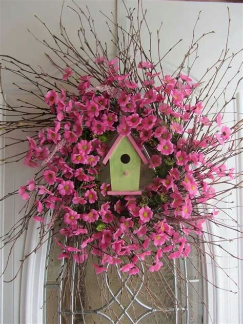 springtime wreaths spring wreath idea spring easter pinterest