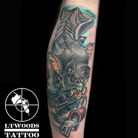 best tattoo artists st louis lt woods new school artist st louis mo