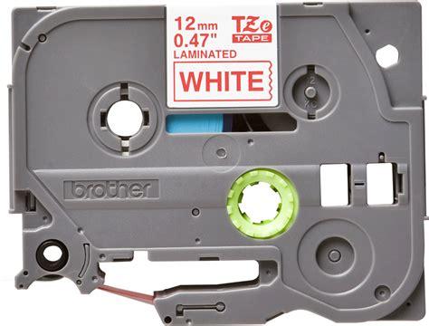 Tze 232 12mm On White tze 232 genuine supplies