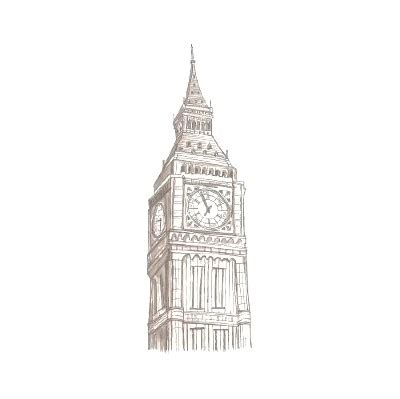 Londan Big Ben Multifunction Wardrobe Lemari Pakaian clock desenha ai drawing image 88563 on favim