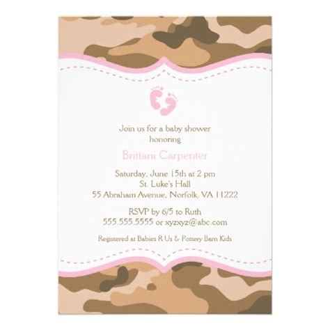 Camouflage Invitations Baby Shower by 1000 Ideas About Camo Baby Showers On