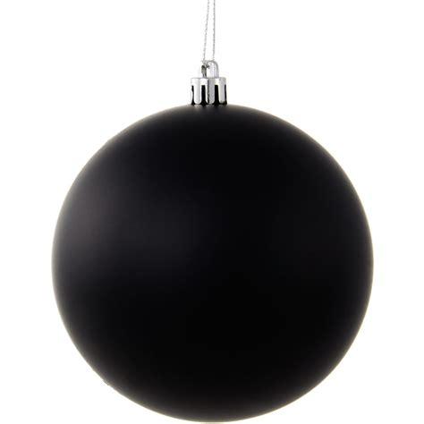 4 5 quot black plastic round ball ornament chalkboard 3815