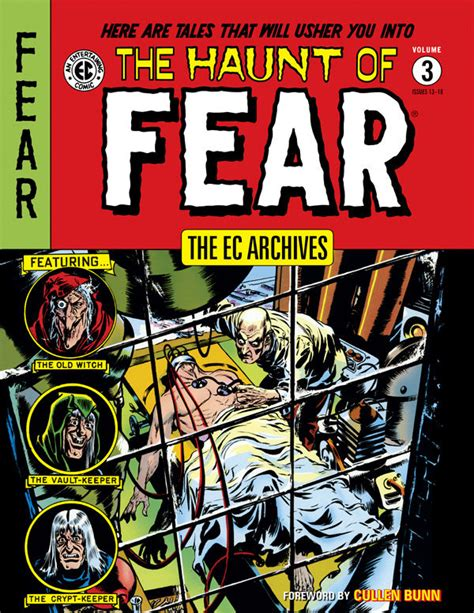 the ec archives the haunt of fear volume 3 hc comix asylum