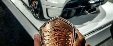 koenigsegg regera key koenigsegg regera gets 18k pink gold and diamonds key fob