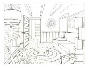 living room drawing jenn johnson s art blog 1960 s living room