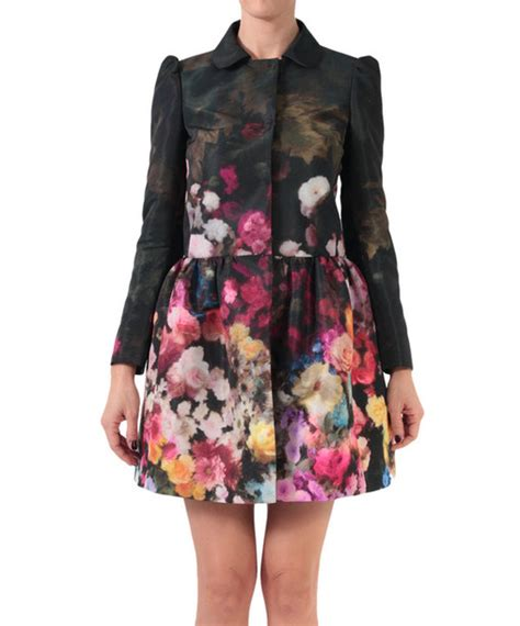 Floral Print Coat From Boden by Coat Valentino Floral Floral Print Coat Floral