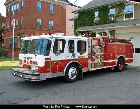 hartford fire department ride to or from school in a west hartford fire department