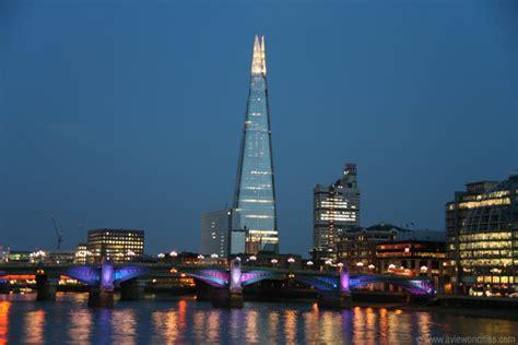 the shard at night southwark bridge and the shard at night london shard