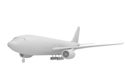 commercial model planes commercial plane high poly 3d model cgtrader