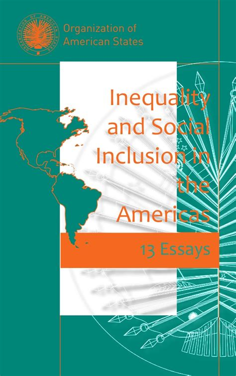libro inequality and the 1 oas inequality and social inclusion in the americas