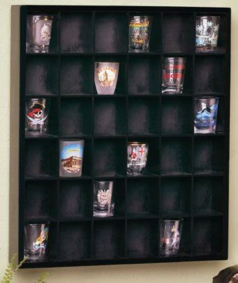 shot glass curio cabinet product review for wood shot glass wall curio display case