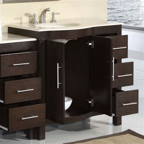 Bathroom Sink Cabinet Ideas by Bathroom Design 53 5 Quot Silkroad Single Sink