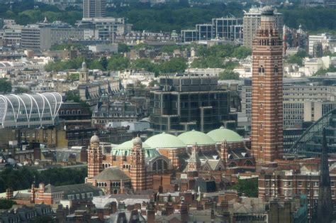 Westminster Cathedral, Westminster, 1928   Britain from Above