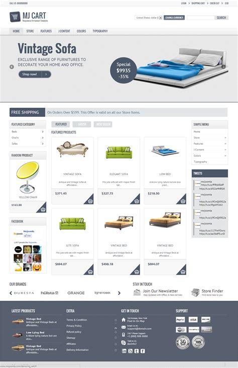 Top 10 Premium Joomla 2 5 Templates 2013 Blogoftheworld Joomla Shopping Cart Template Free