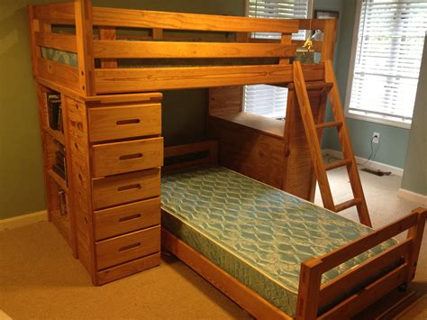 Cherry Bunk Beds Hathaway Cherry Full Over Full Bunk Beds Bunk Beds With Desk