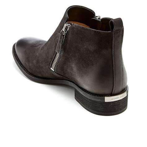 michael michael kors s denver leather flat ankle