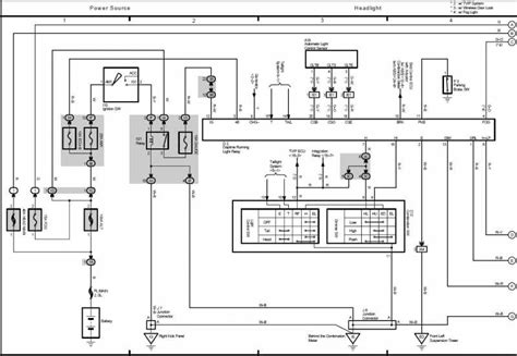 toyota taa alarm wiring toyota wiring diagram for cars