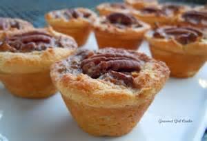 gourmet girl cooks pecan tassies mini pecan tarts