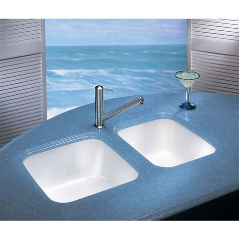 Fireclay Undermount Kitchen Sink Kitchen Sinks Fireclay Undermount Sinks By Franke 17 1 2 W X 17 1 2 Quot D X 7 7 8 Quot H