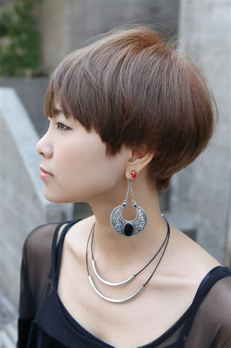 side views of short hair styles side view of cute short haircut with bangs hairstyles weekly
