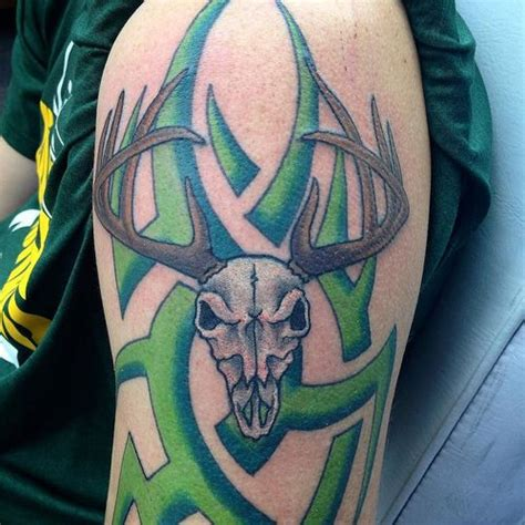deer skull tribal tattoos 30 deer skull design ideas for your 2018